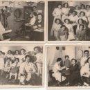 Fotografía antigua: CUATRO FOTOGRAFIAS DE UNA PELUQUERIA FOTO REPORTAJE DEL MORAL MOLINA BASTEROS,8 Y 19 MADRID -C-36. Lote 160841734