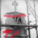 Fotografía antigua: FABARA ZARAGOZA. MONUMENTO A LOS CAIDOS EN CONSTRUCCIÓN. AÑO 1954 ANTIGUO NEGATIVO ORIGINAL 9 X 6 CM. Lote 160879982