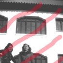 Fotografía antigua: FABARA ZARAGOZA. DOS MUCHACHAS .AÑO 1954 ANTIGUO NEGATIVO ORIGINAL 9 X 6 CM. Lote 160932150