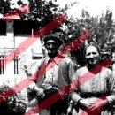 Fotografía antigua: FABARA ZARAGOZA. PAREJA DE AGRICULTORES 1954 ANTIGUO NEGATIVO ORIGINAL 9 X 6 CM. Lote 160932882