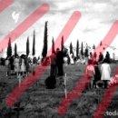 Fotografía antigua: FABARA ZARAGOZA. CEMENTERIO 1954 ANTIGUO NEGATIVO ORIGINAL 9 X 6 CM. Lote 160947910