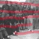 Fotografía antigua: FABARA ZARAGOZA. EX COMBATIENTES BATALLA DEL EBRO 1954 ANTIGUO NEGATIVO ORIGINAL 9 X 6 GUERRA CIVIL. Lote 160949122