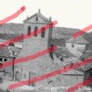 Fotografía antigua: FABARA ZARAGOZA. ERMITA CRISTO DE LA ZARZA 1954 ANTIGUO NEGATIVO ORIGINAL 9 X 6 MAELLA. Lote 160955362