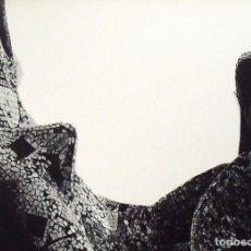Fotografía antigua: LEOPOLDO POMÉS. FOTOGRAFÍA ARTÍSTICA. LA PEDRERA. GAUDÍ. RENÉ METRAS. NUMERADA 186/200. 1967.. Lote 161544450