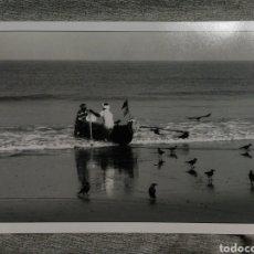 Fotografía antigua: FOTOGRAFÍA PROFESIONAL ARTÍSTICA BLANCO Y NEGRO- PAISAJE INDIA, 30'5X20CM.. Lote 162314202