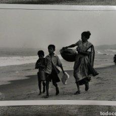 Fotografía antigua: FOTOGRAFÍA PROFESIONAL ARTÍSTICA BLANCO Y NEGRO- PAISAJE INDIA, 30'5X20CM.. Lote 162315333