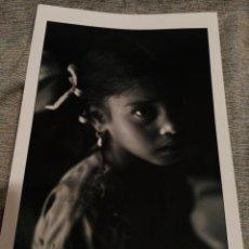 Fotografía antigua: FOTOGRAFÍA PROFESIONAL ARTÍSTICA BLANCO Y NEGRO- PAISAJE INDIA, 30'5X20CM.. Lote 162315474