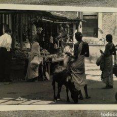Fotografía antigua: FOTOGRAFÍA PROFESIONAL ARTÍSTICA BLANCO Y NEGRO- PAISAJE INDIA, 30'5X20CM.. Lote 162315730