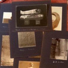 Fotografía antigua: FOTOGRAFIAS-ALBUMINAS. ARCHIVO FOTOGRAFICO. EGIPTO. . FRANCIA 1900. ENVIO CERTIFICADO INCLUIDO... Lote 162473966