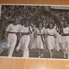 Fotografía antigua: FOTOGRAFIA DE EPOCA DE LAS FIESTAS DE SAN ROKE EN DEVA GUIPUZCOA AÑO1947 FOTO ALLICA. Lote 162503150