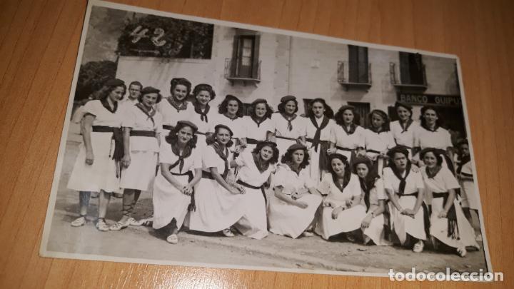 FOTOGRAFIA DE EPOCA DE LAS FIESTAS DE SAN ROKE EN DEVA GUIPUZCOA AÑO 1942 FOTO ALLICA (Fotografía - Artística)