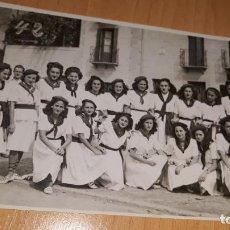 Fotografía antigua: FOTOGRAFIA DE EPOCA DE LAS FIESTAS DE SAN ROKE EN DEVA GUIPUZCOA AÑO 1942 FOTO ALLICA. Lote 162503254