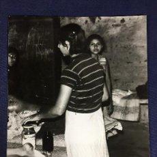 Fotografía antigua: FOTOGRAFIA COMISION DERECHOS HUMANOS DE EL SALVADOR GUERRILLA COL RACANDON MEXICO MADRE 25,5X20,5CMS. Lote 162946938
