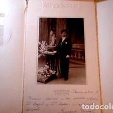 Fotografía antigua: RETRATO DE COMUNIÓN JOSÉ ALONSO - PORTAL DEL COL·LECCIONISTA *****. Lote 163068298