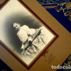Fotografía antigua: RETRATO DE BEBÉ - O.UNAL GERONA - PORTAL DEL COL·LECCIONISTA *****. Lote 163068434