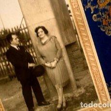Fotografía antigua: RETRATO DE PAREJA - PORTAL DEL COL·LECCIONISTA *****. Lote 163068570