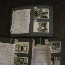 Fotografía antigua: 288 FOTOS EN 3 ALBUMES-BARCELONA, MONTSERRAT, VILASSAR...ETC-VER FOTOS-(V-16.981). Lote 164607994