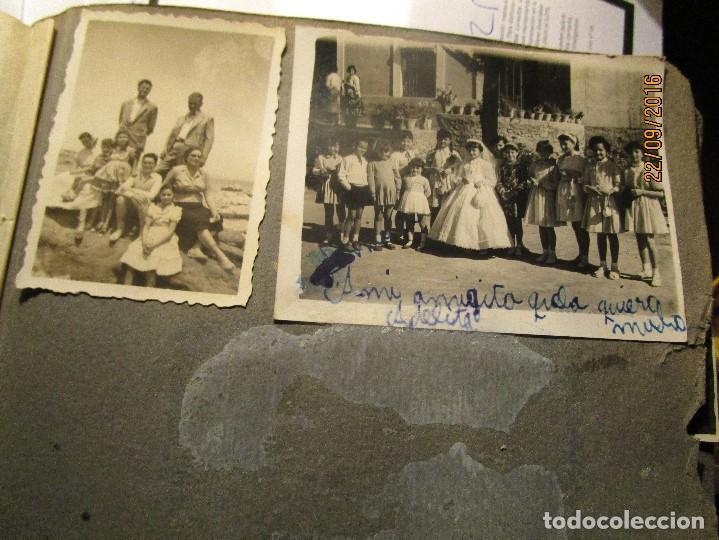 Fotografía antigua: ANTIGUO ALBUM FOTOS ALICANTE Y ELDA 49 FOTOGRAFIAS EN FIESTAS PLAYA ATRACCION ETC - Foto 14 - 164636546