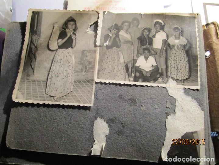 Fotografía antigua: ANTIGUO ALBUM FOTOS ALICANTE Y ELDA 49 FOTOGRAFIAS EN FIESTAS PLAYA ATRACCION ETC - Foto 17 - 164636546