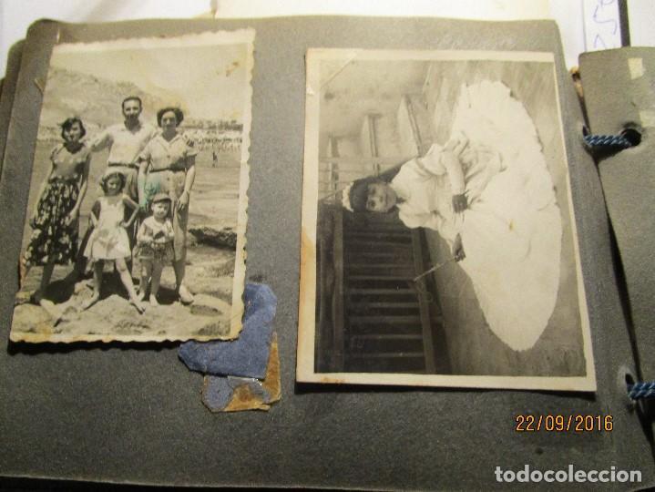 Fotografía antigua: ANTIGUO ALBUM FOTOS ALICANTE Y ELDA 49 FOTOGRAFIAS EN FIESTAS PLAYA ATRACCION ETC - Foto 18 - 164636546