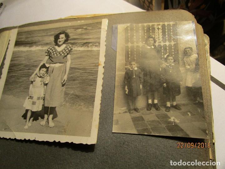 Fotografía antigua: ANTIGUO ALBUM FOTOS ALICANTE Y ELDA 49 FOTOGRAFIAS EN FIESTAS PLAYA ATRACCION ETC - Foto 24 - 164636546