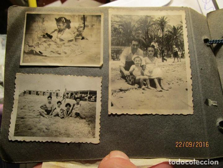 Fotografía antigua: ANTIGUO ALBUM FOTOS ALICANTE Y ELDA 49 FOTOGRAFIAS EN FIESTAS PLAYA ATRACCION ETC - Foto 19 - 164636546