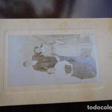 Fotografía antigua: FOTOGRAFIA ARTÍSTICA.- RTO.FAMILIAR, 11 X 8 CM. MADRID.. Lote 164764734