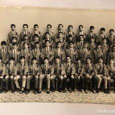 Fotografía antigua: FOTOGRAFÍA. VALENCIA COLEGIO SANTO TOMAS DE VILLANUEVA. P.P. AGUSTINOS CURSO 1968-69??. Lote 164968741