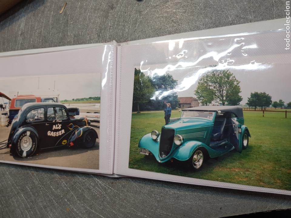 Fotografía antigua: Album fotos originales de coches antiguos - Foto 11 - 165816372