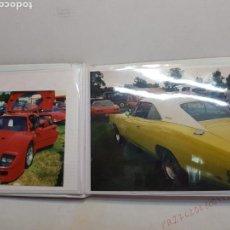 Fotografía antigua: ALBUM FOTOS ORIGINALES DE COCHES ANTIGUOS. Lote 165816372