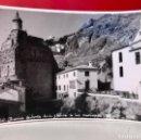 Fotografía antigua: CAZORLA FOTO RUINAS DE SANTA MARIA Y FABRICA DE LUZ NICIPAL FOTO SAN ANTONIO JAEN TIPO POSTAL BUENA. Lote 166276246