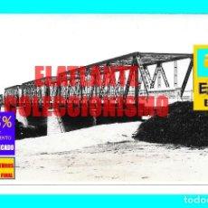 Fotografía antigua: PUENTE SOBRE EL RÍO SANTA LUCÍA CHICO FLORIDA - URUGUAY - RARÍSIMA FOTOGRAFÍA AÑOS 20 - EXCELENTE. Lote 167009208