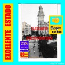 Fotografía antigua: PLAZA DE LA INDEPENDENCIA Y AVENIDA 18 DE JULIO - MONTEVIDEO - RARÍSIMA FOTOGRAFÍA ORIGINAL AÑOS 20. Lote 167146588
