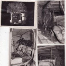 Fotografía antigua: 11 FOTOS REPORTAJES CALAFELL CARMEN 22 TARREGA LERIDA (SELLO DEL FOTOGRAFO) . Lote 167600992