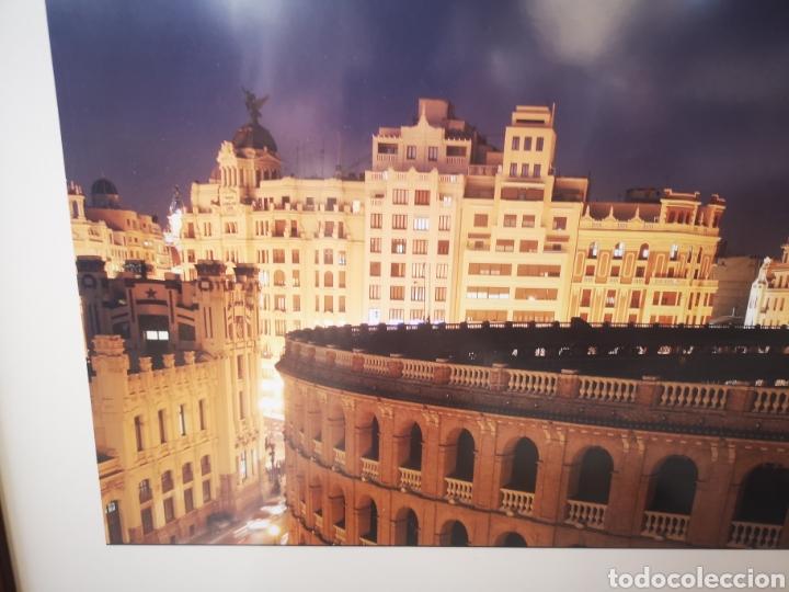 Fotografía antigua: Gran fotografia enmarcada de la plaza de toros de Valencia. Foto de Perez de los Cobos Gironés - Foto 2 - 167682445
