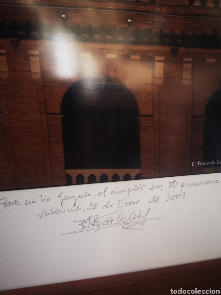 Fotografía antigua: Gran fotografia enmarcada de la plaza de toros de Valencia. Foto de Perez de los Cobos Gironés - Foto 4 - 167682445