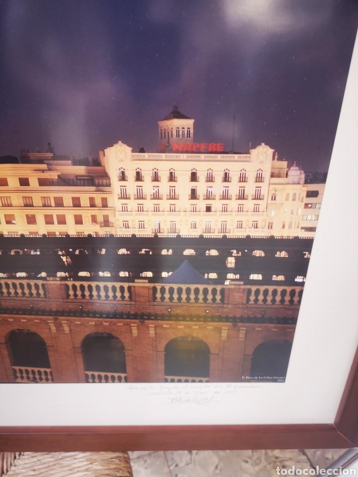 Fotografía antigua: Gran fotografia enmarcada de la plaza de toros de Valencia. Foto de Perez de los Cobos Gironés - Foto 3 - 167682445