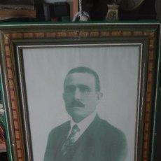 Fotografía antigua: PRECIOSA FOTOGRAFÍA DE HOMBRE ENMARCADA.PRINCIPIOS SIGLO XX. Lote 167934044