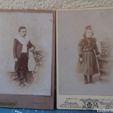 Fotografía antigua: LEON, FOTÓGRAFO GRACIA,DOS FOTOS ORIGINALES, VED FOTOS. Lote 168053360