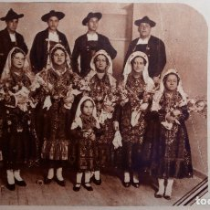 Fotografía antigua: SALAMANCA. CHARROS. AÑOS 1930. CASA CHARRA MADRID. FOLKLORE. REGIONALISMO. Lote 168908980