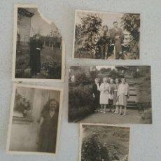 Fotografía antigua: CINCO FOTOGRAFÍAS FOTO EN EXTERIOR, DE GRUPOS, SEÑORAS ALEMANAS, AÑOS 40-50.. Lote 169134070