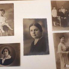 Fotografía antigua: FOTO ESTUDIOS MÁLAGA, RUEDA, IRIS, ARENAS Y PHOTO HALL. Lote 169446036