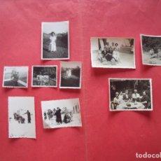 Fotografía antigua: OPTICA LUGON.-ANTONIO GONZALEZ.-FOTOGRAFIAS.-LOTE DE 10 FOTOS.-VALENCIA.-AÑOS 40.. Lote 170398380