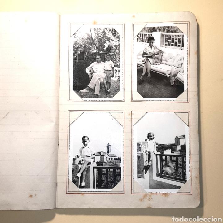 Fotografía antigua: CUADERNO ALBUM FOTOGRAFICO - CON FOTOS ANTIGUAS (VER FOTOS ADJUNTADAS) - Foto 5 - 171072223