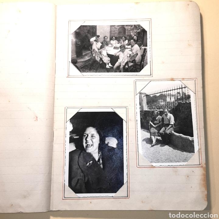 Fotografía antigua: CUADERNO ALBUM FOTOGRAFICO - CON FOTOS ANTIGUAS (VER FOTOS ADJUNTADAS) - Foto 6 - 171072223