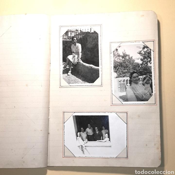 Fotografía antigua: CUADERNO ALBUM FOTOGRAFICO - CON FOTOS ANTIGUAS (VER FOTOS ADJUNTADAS) - Foto 8 - 171072223