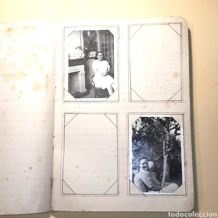 Fotografía antigua: CUADERNO ALBUM FOTOGRAFICO - CON FOTOS ANTIGUAS (VER FOTOS ADJUNTADAS) - Foto 10 - 171072223