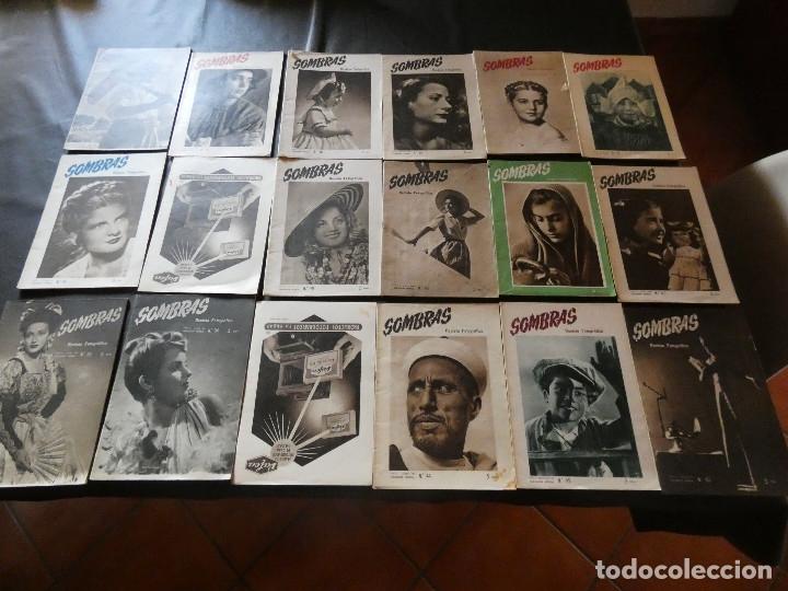 LOTE 18 REVISTAS SOBRE FOTOGRAFIA SOMBRAS ENTRE LOS NUMEROS 22 Y 52 MUY BUEN ESTADO (Fotografía - Artística)