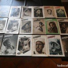 Fotografía antigua: LOTE 18 REVISTAS SOBRE FOTOGRAFIA SOMBRAS ENTRE LOS NUMEROS 22 Y 52 MUY BUEN ESTADO. Lote 171316655