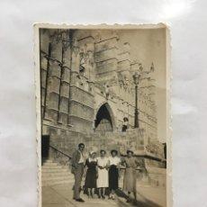 Fotografía antigua: PALMA DE MALLORCA. CATEDRAL. FOTÓGRAFO ANÓNIMO. H. 1955?.. Lote 171755088